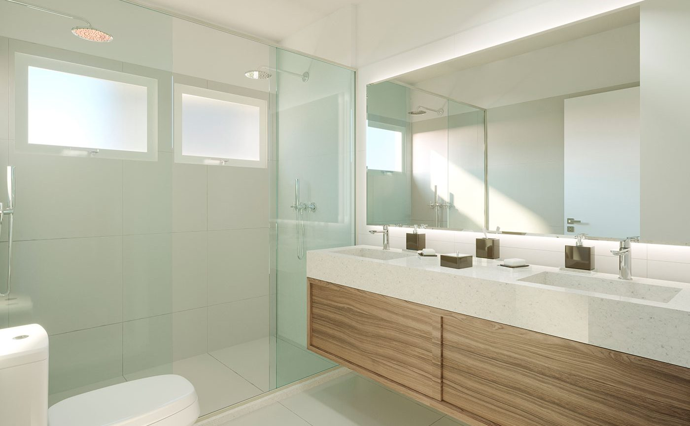 Banheiro - Residencial The Sand